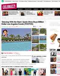 'Dancing With the Stars' Apolo Ohno Buys Million: Celebuzz